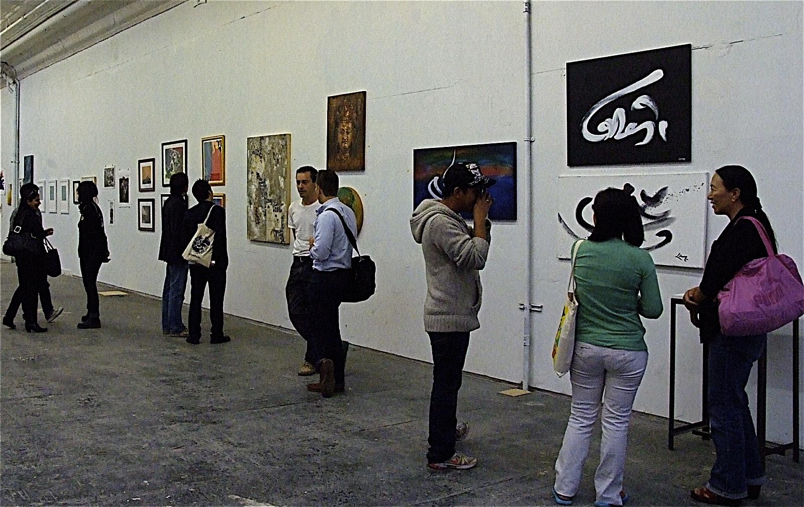 Art for Tibet Gallery Opening