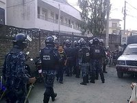Nepalese Police Confiscate Ballot Boxes