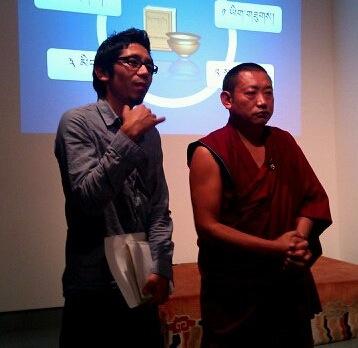 Tendor and Kusho Lobsang Monlam