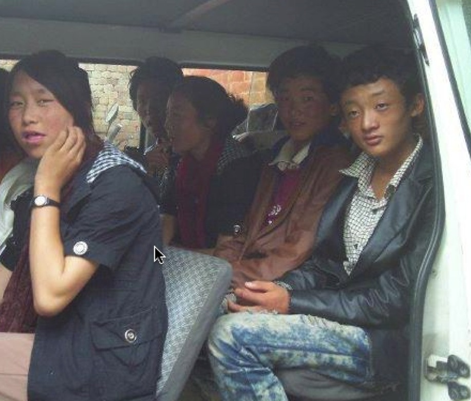 Tibetans released