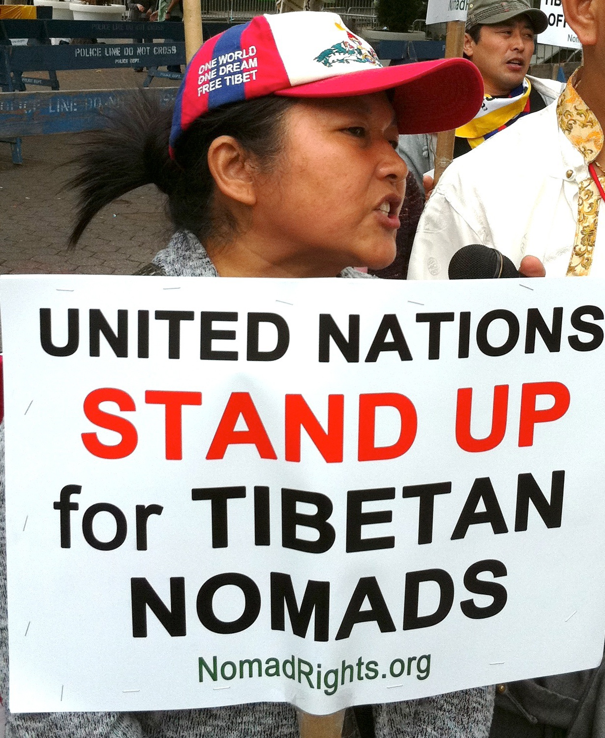 UN Stand Up for Tibetan Nomads