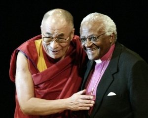 The Dalai Lama and Bishop Tutu