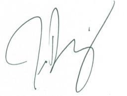 Tendor signature