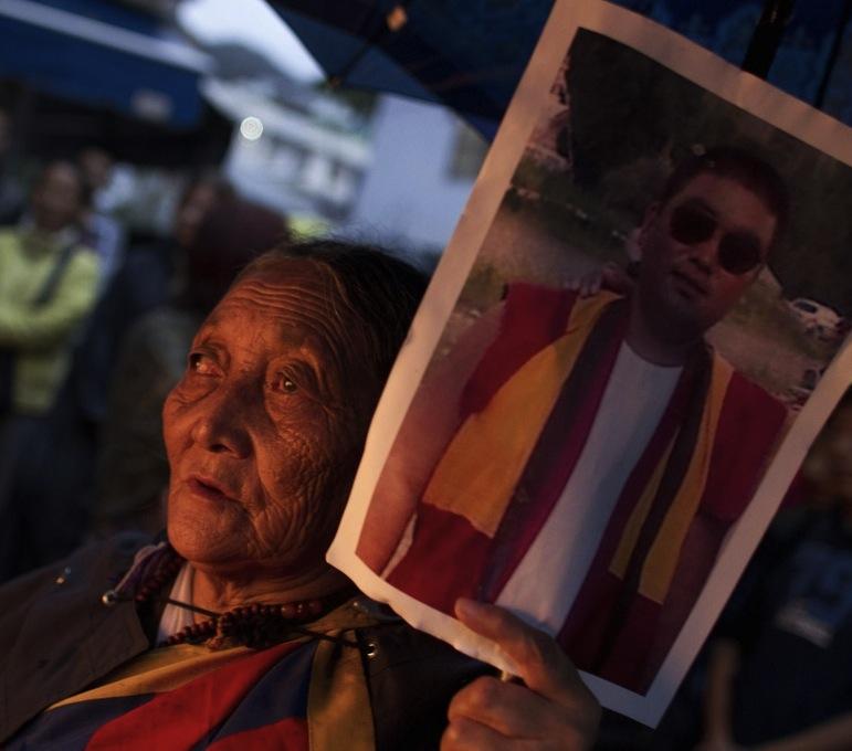 Tsewang Norbu vigil